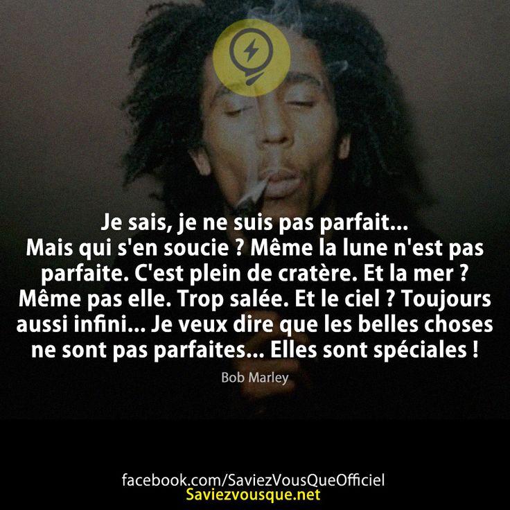 Les 25 meilleurs Citations De Bob Marley sur Pinterest