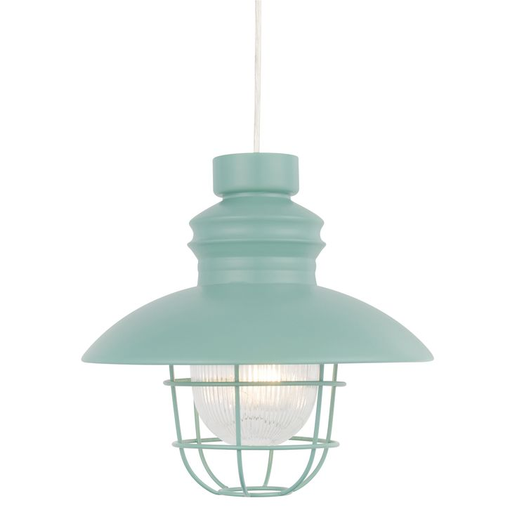 Colours paynton green fishermans light shade dia280mm departments diy at bq