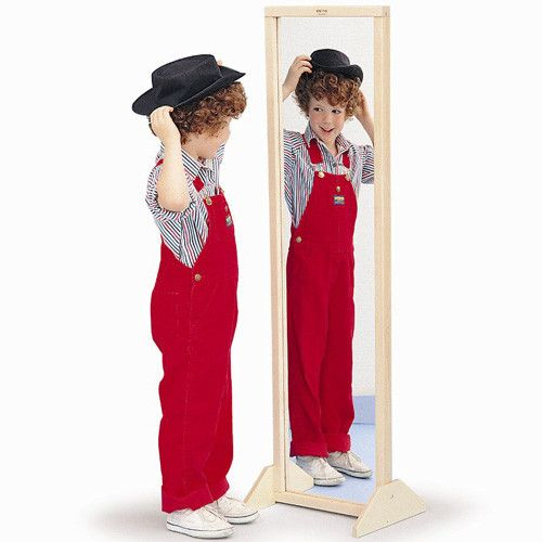 Vertical or Horizontal Mirror w/Stand
