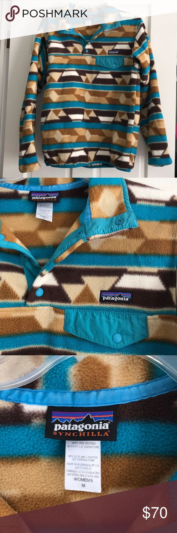 Patagonia Fleece pullover Patagonia fleece pullover. Size M. Great condition. Not rips, stains or tears. Worn a few times. Pet and smoke free home Patagonia Tops Sweatshirts & Hoodies