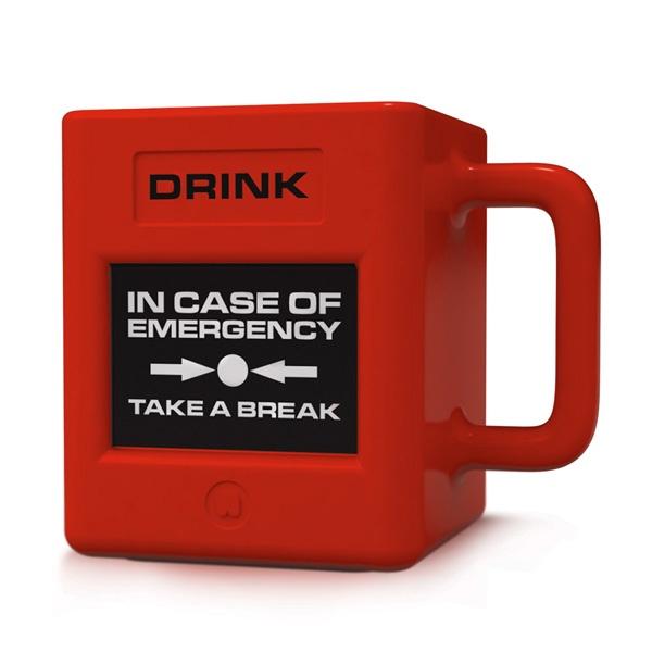 Taza para Emergencias / Take a Break Emergency Mug · Tienda de Decoración y Regalos originales UniversOriginal