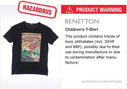 Benetton t-shirt   #Detox #Fashion