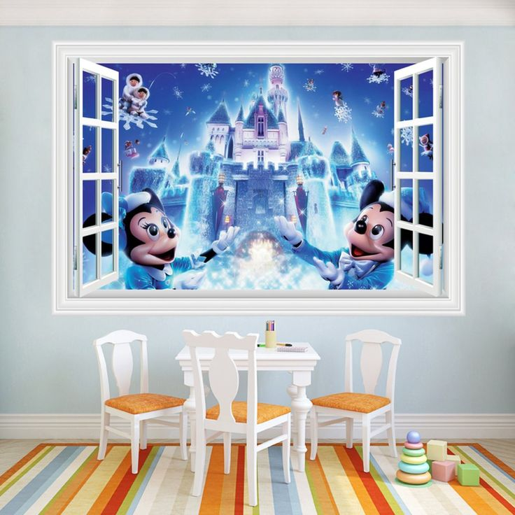 Disney Castle Wall Stickers  sc 1 st  Pinterest & The 14 best Disney Castle Wall Stickers images on Pinterest | Castle ...