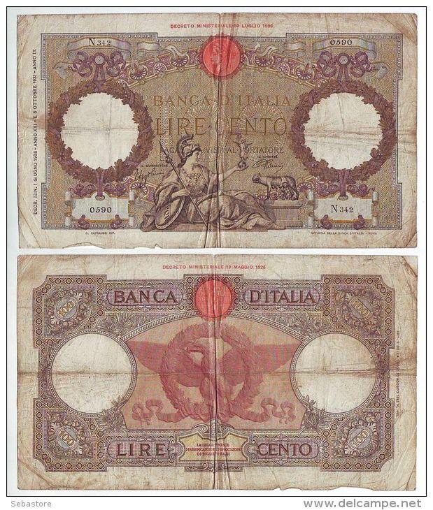 100 Lire of 1931