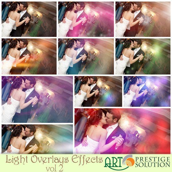 Light Overlay effect -vol 2 - Pro Photographers Elements by ArtGraficStudio on Etsy