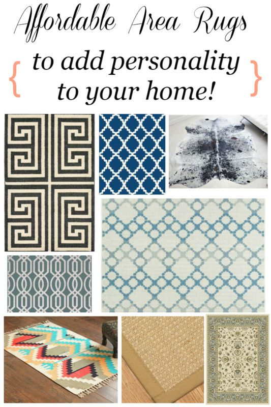 Affordable Area Rugs To Add Personality Your Home