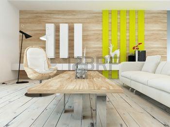 casas rusticas decoracin rstica en una moderna sala de estar con un muro de madera