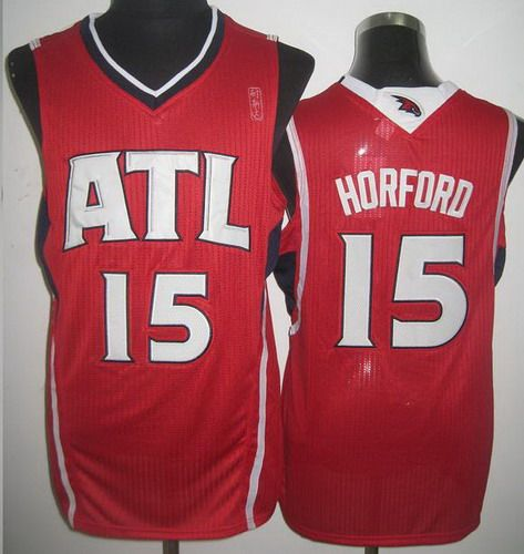 Atlanta Hawks 15 Al Horford Red Revolution 30 NBA Jerseys
