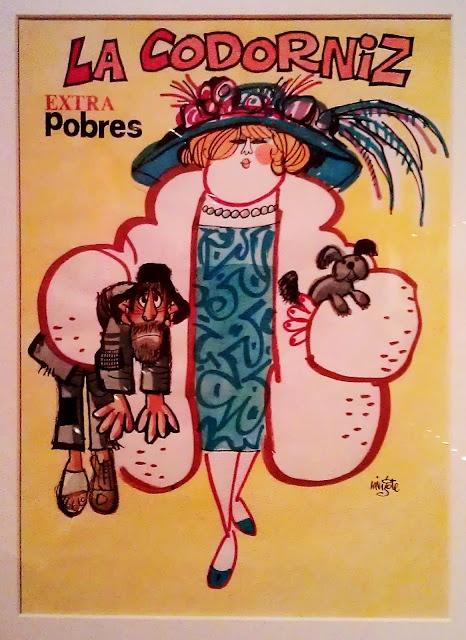 "Portada de La Codorniz de Mingote ""Extra Pobres"". Via beautifulmagazinecovers.tumblr.com/"