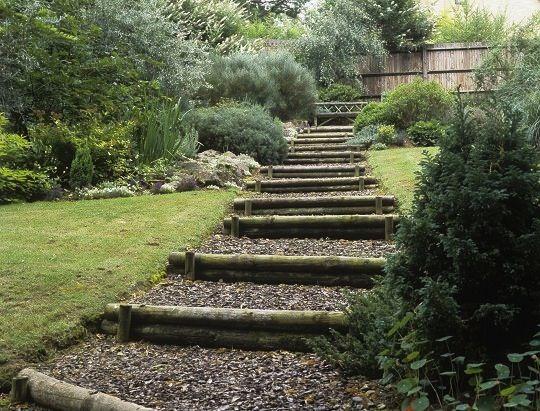 17 migliori idee su scala da giardino su pinterest - Costruire giardino roccioso ...