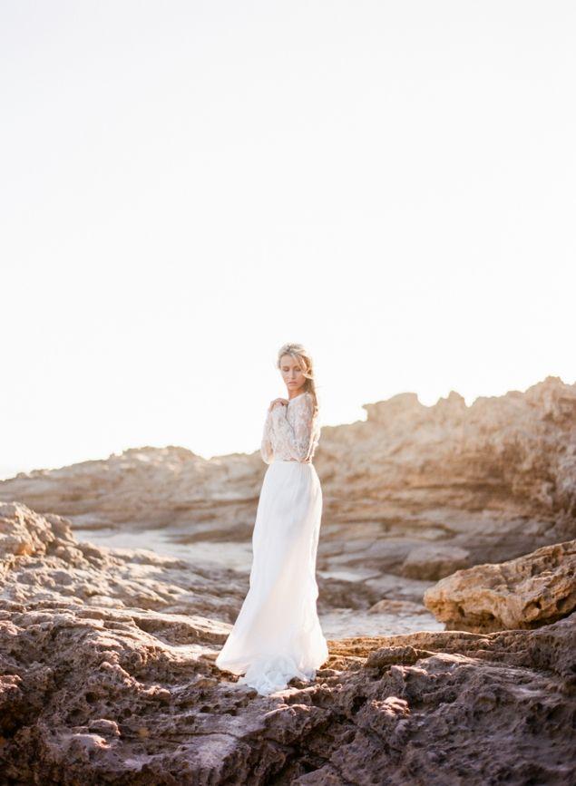 Pastel Seaside Bridal | Melbourne, Australia | Connie Whitlock Photo