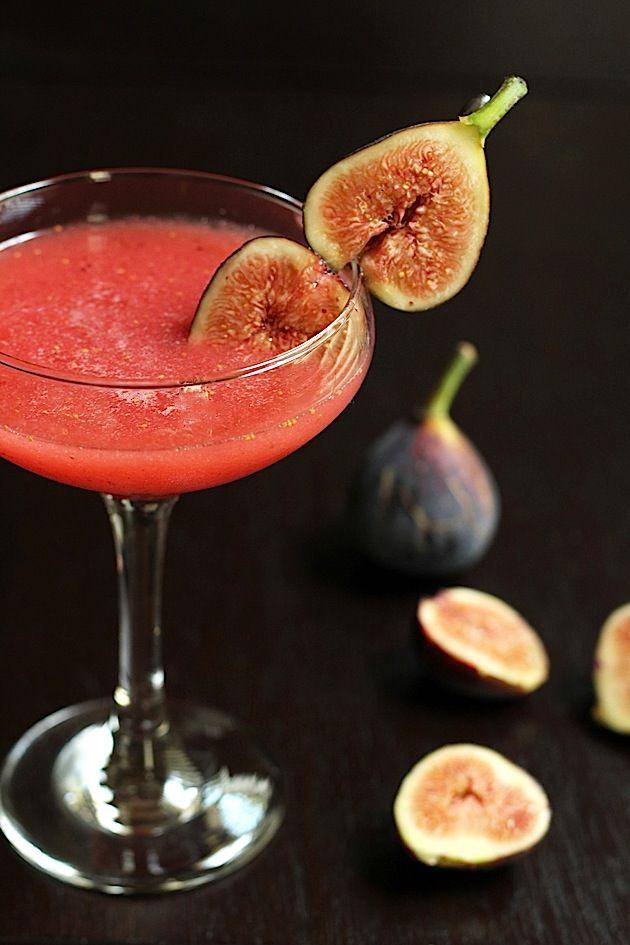 fig & honey #cocktail | Savor Home