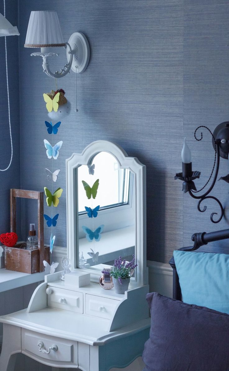 Дизайн интерьера. Туалетный стол. Спальня Прованс. Детали. Декор. Kruppinteriors www.kruppinteriors.com