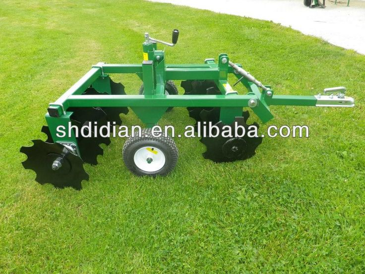 Lawn Tractor Disc : Common atv utv garden tractor buggy disc cultivator harrow