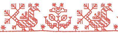 carelian embroidery