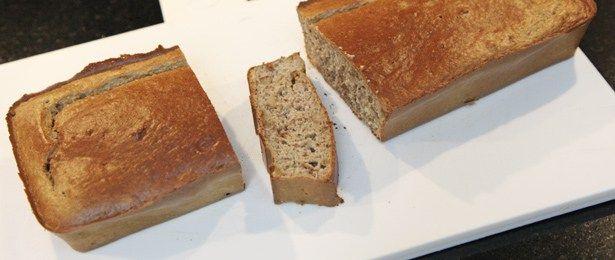 recept voor havermout cake met banaan en walnoot