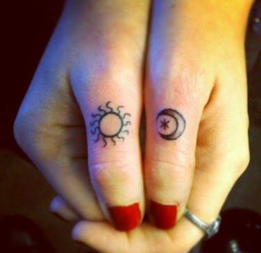 moon of my life my sun and stars tattoo - Google Search