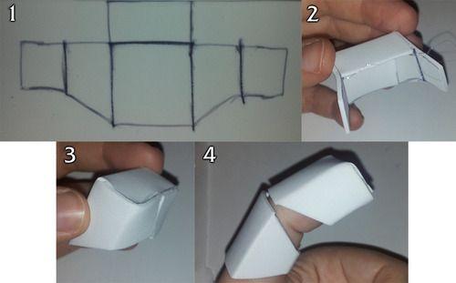 quick iron man foam finger guide