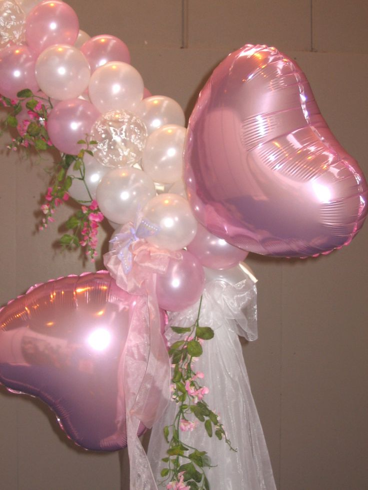 133 best images about wedding decorations on pinterest for Balloon ideas for kids