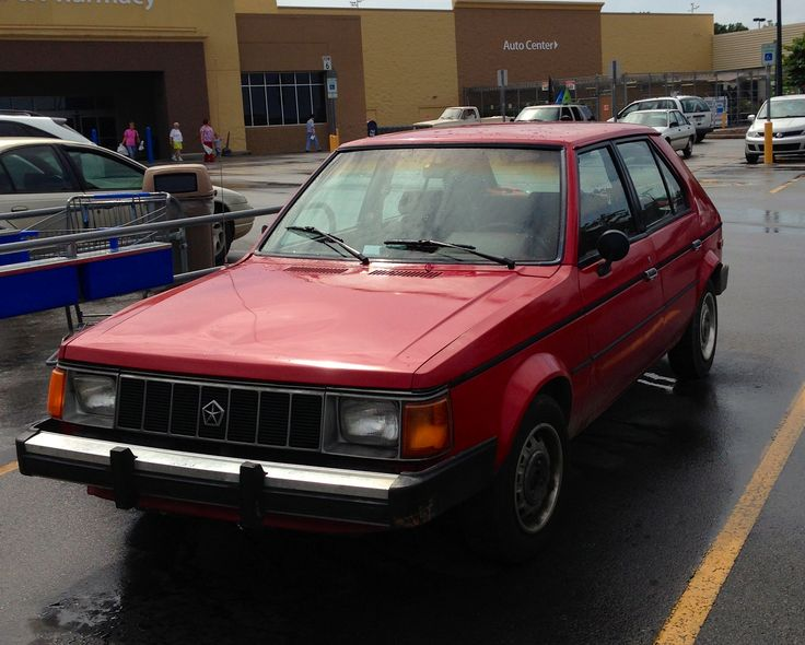 1982 Plymouth Horizon  -  Actually owned one; dismal...