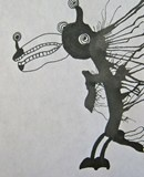 Artsonia Art Exhibit :: Daily Monsters inspired by Stefan G. Bucher as created 5 th grade students.