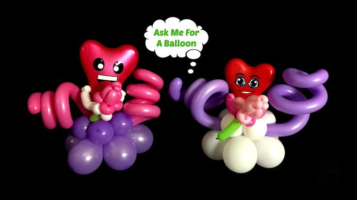 Check out these goofy faces at balloons.online!
