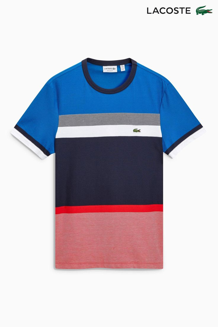 Buy Lacoste® Multi Stripe Poloshirt from the Next UK online shop