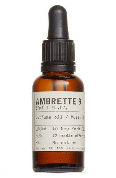 Bridal Perfume - Le Labo 'Ambrette 9' Perfume Oil