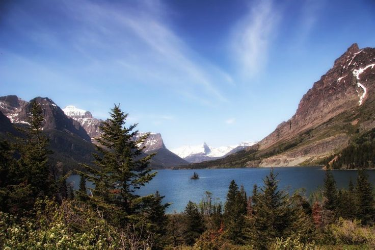 Lakes and Mountains of Glacier National Park