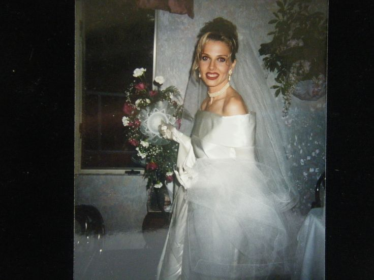 Wedding Dress For A Client She Channeled Marla Maples