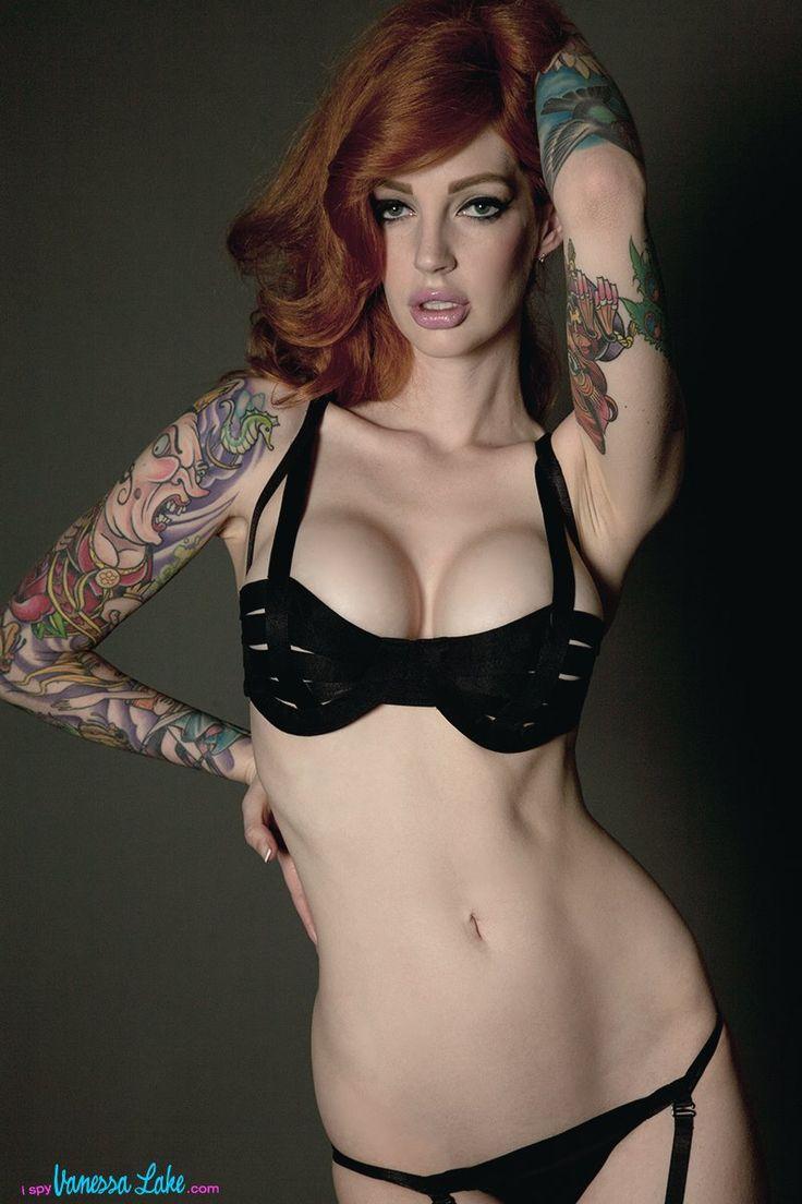 Elbows | Tattooed girls models, Vanessa lake, Redheads
