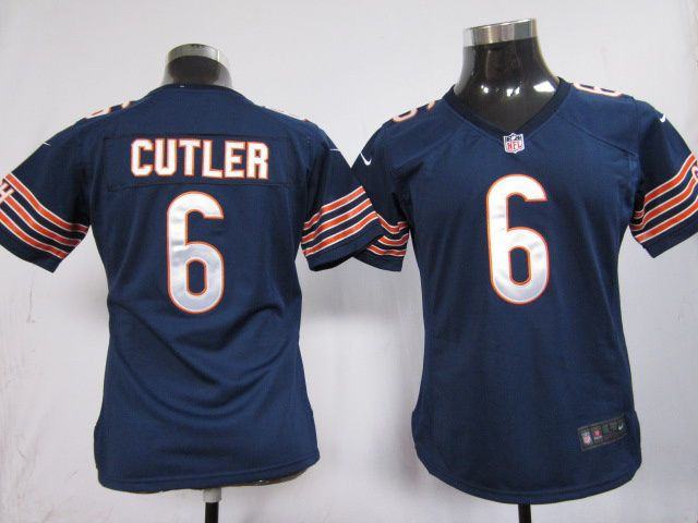 7921a11ee ... Womens Nike Nfl Chicago Bears 6 Jay Cutler Blue Elite Jersey 19 per  piece, ...