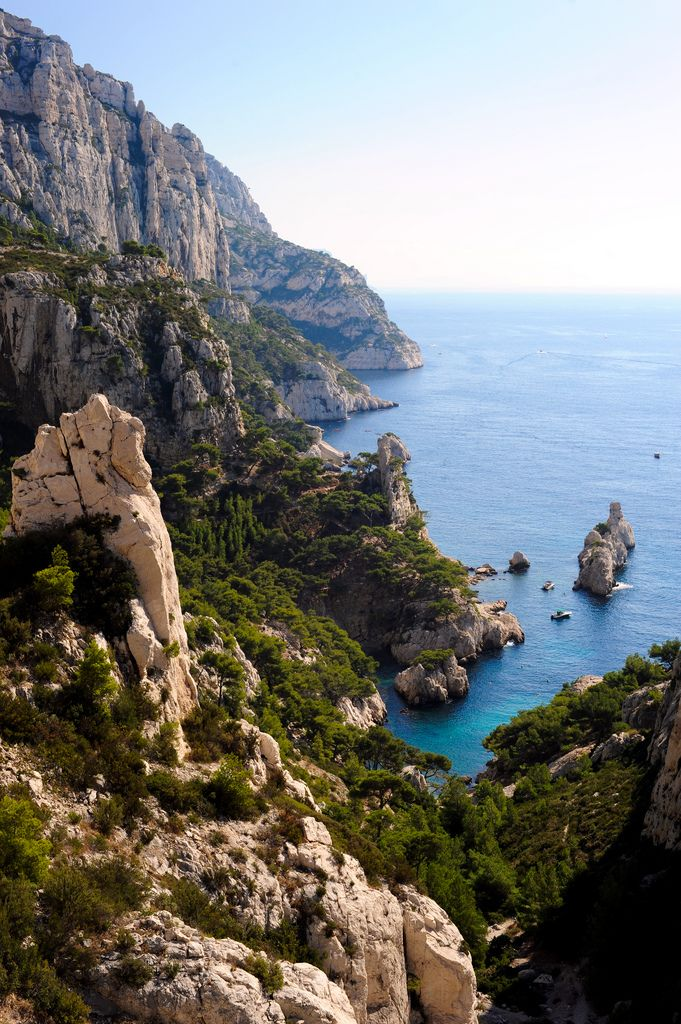 Calanques De Marseille, France // Clearly I need to go back to