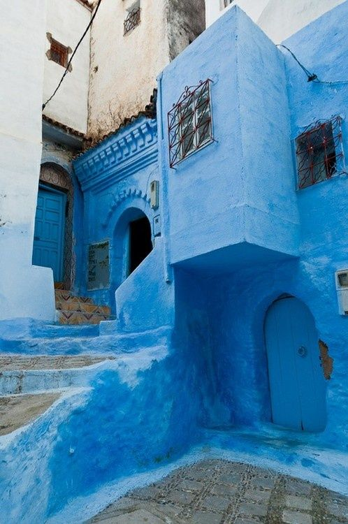 Streets of Morocco.