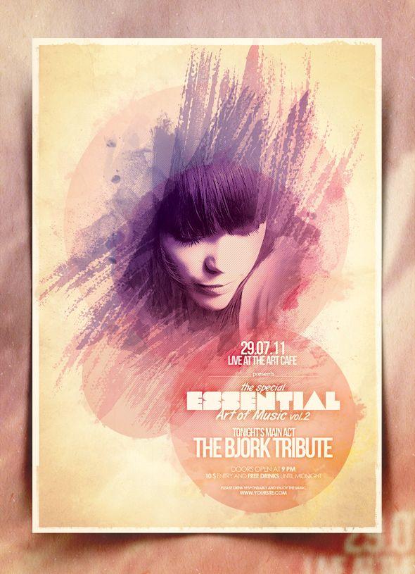 Alternative Poster Template Vol. 7 by IndieGround.deviantart.com on @deviantART