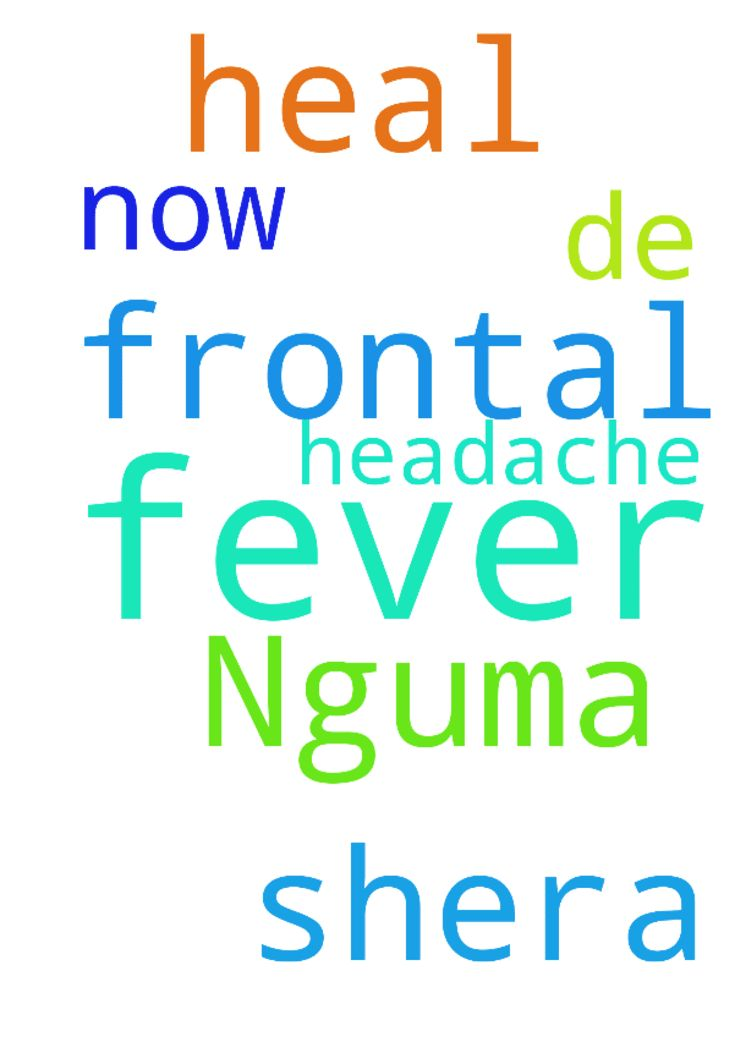 Father heal Nguma shera who is having fever n frontal - Father heal Nguma shera who is having fever n frontal headache now in de name Jesus amen. Posted at: https://prayerrequest.com/t/HRL #pray #prayer #request #prayerrequest