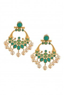 by pin earrings jhumkas indianfashion jhumkis amrapali indianjewellery or