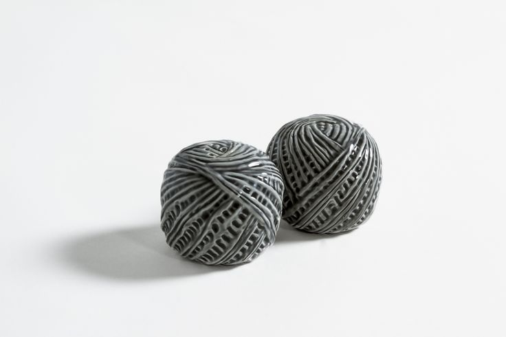 """""""matasSAL & PEPitolo"""" The skein. The origin, the enigma, the game. (a ball of salt - a skein of pepper)"""