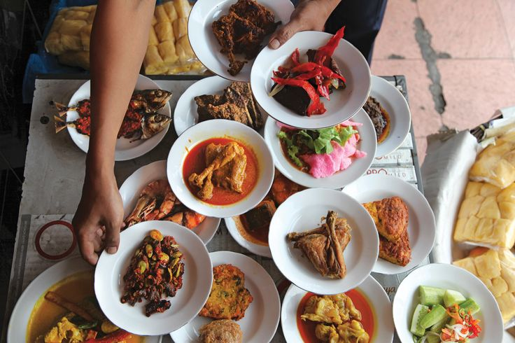 Spice World | SAVEUR With its scores of dishes, Nasi Padang is Indonesia's ultimate feast Indonesian meal