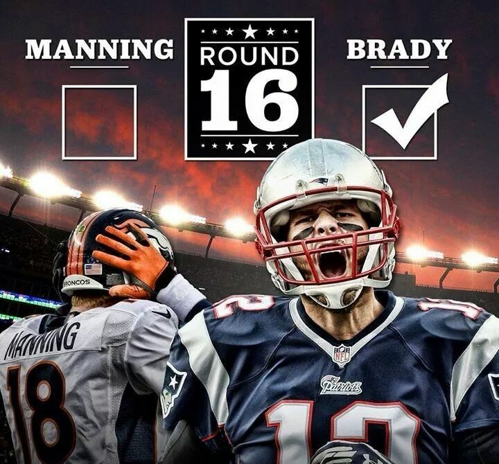 WHO is MANNING ? LOL   TOM BRADY is the GOAT!!!