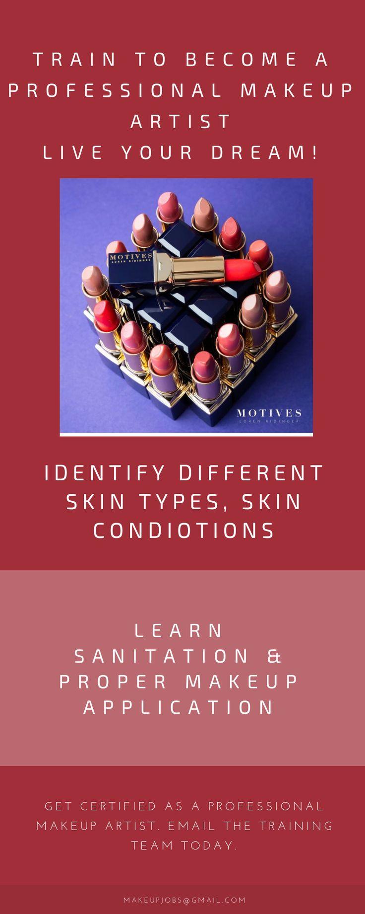 a professional makeup artist certified makeup