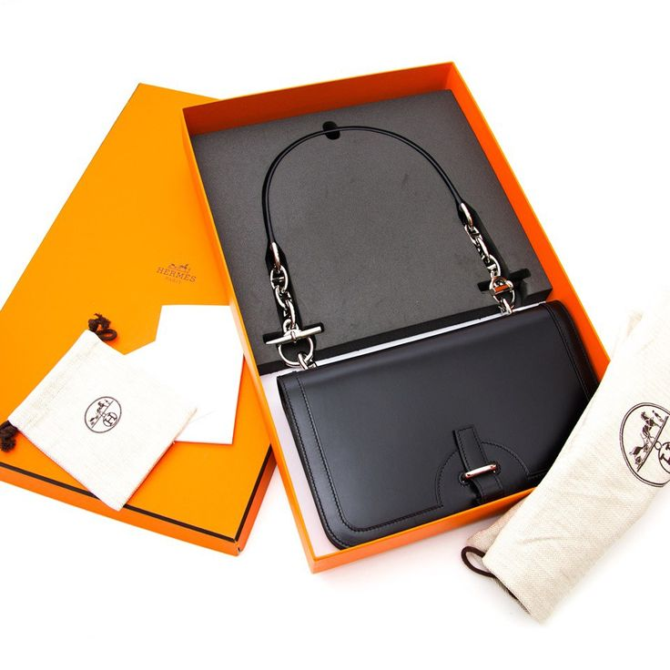 Hermes Chaine D'ancre Black Swift