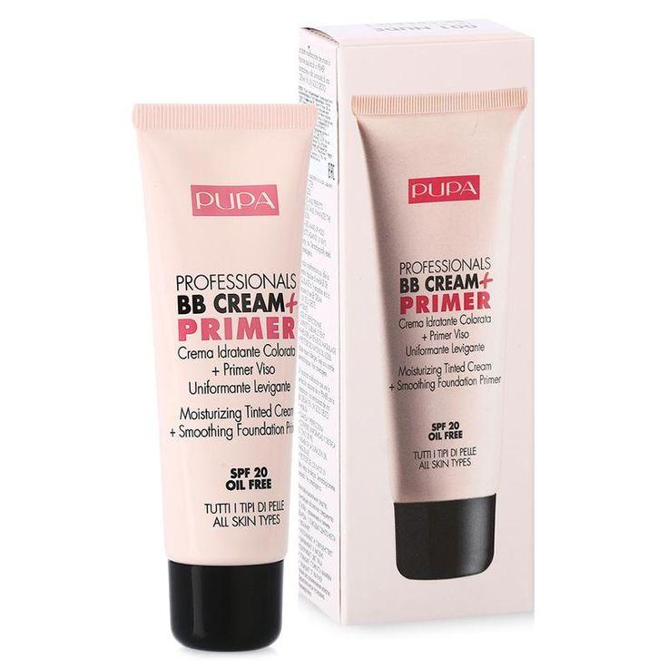Bb крем для лица Pupa Professionals Bb Cream Spf 20 Увлажняющий, 50 мл, 001 Nude, для всех типов кожи