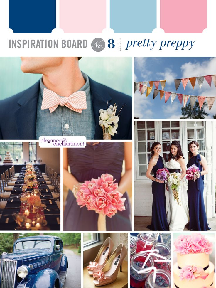 Inspiration Board: Pretty Preppy   Elegance & Enchantment