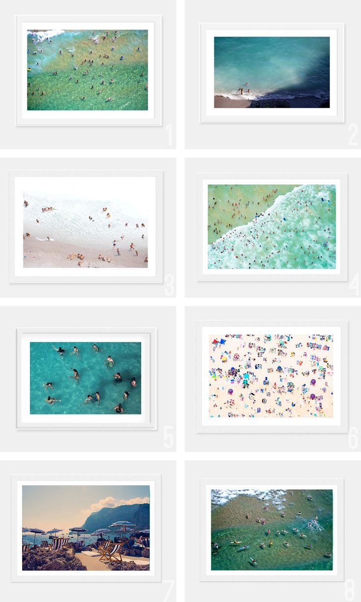 Trend I aint Mad at: Beachy Art Prints - Amber Interiors
