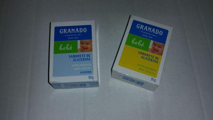 GRANADO sabonete GLICERINA  hidratante BABY Hypoallergenic  #Soap Brazilian set #GRANADO #madeinBrazil
