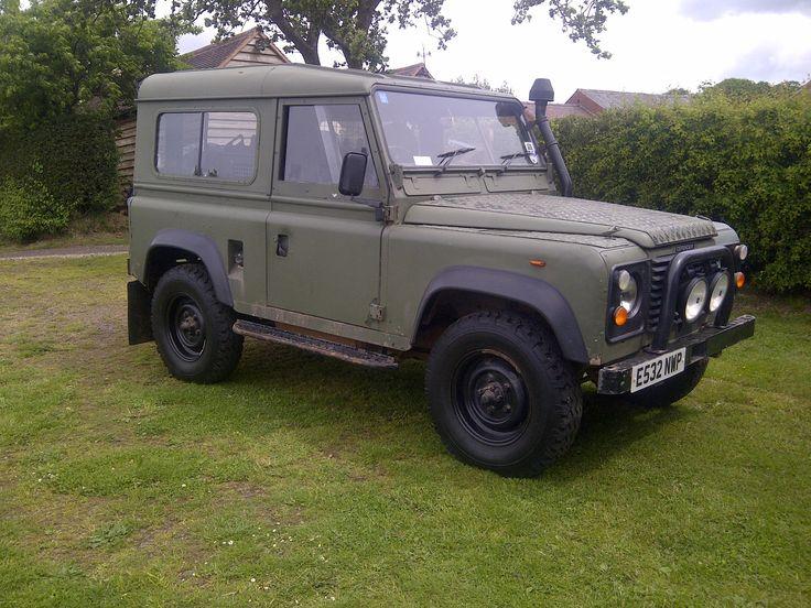 1986 LAND ROVER DEFENDER 90 for sale, £2,250 | http://www.lro.com/detail/cars/4x4s/land-rover/defender-90/73336