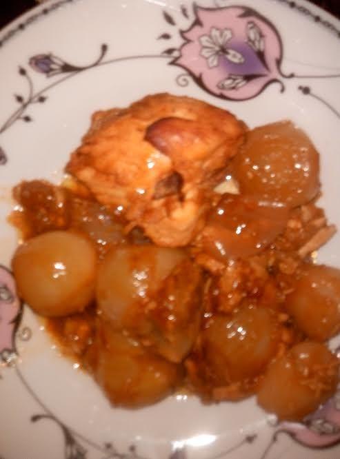 Κοτόπουλο στιφάδο στην γάστρα (1 ή 2 μονάδες)