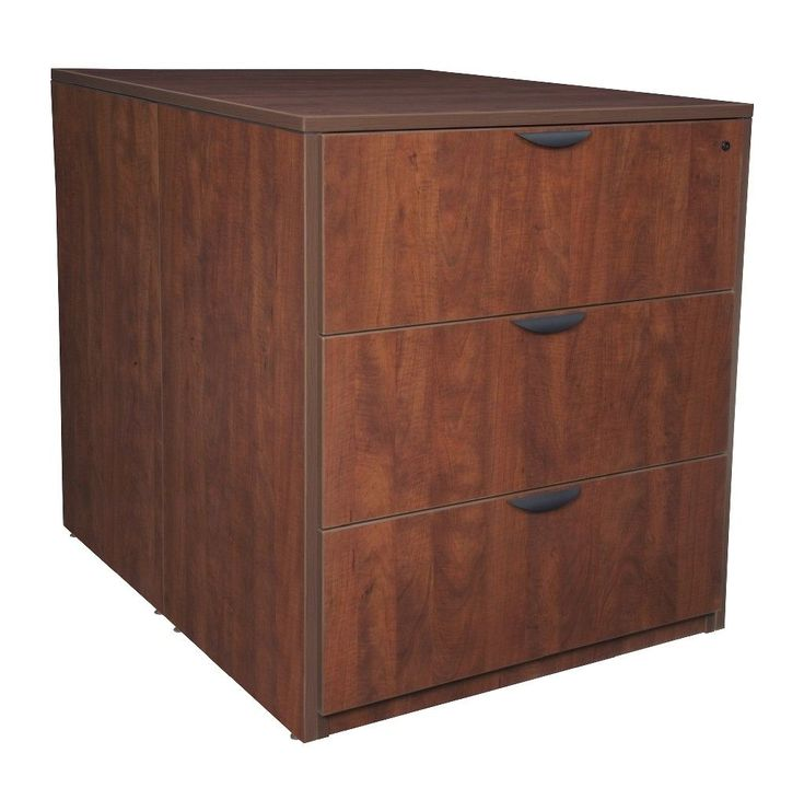 Legacy Stand Up Back To Back Lateral File/ Desk In Cherry