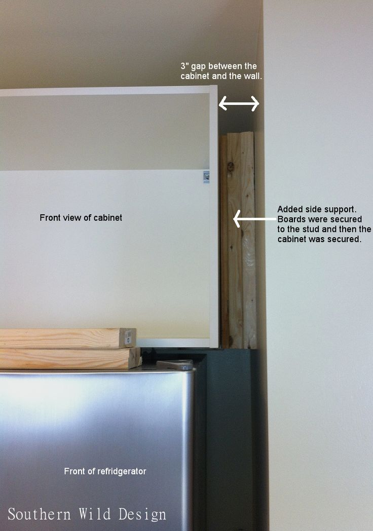 108 best images about ikea kitchen on pinterest white for Ikea fridge cabinet